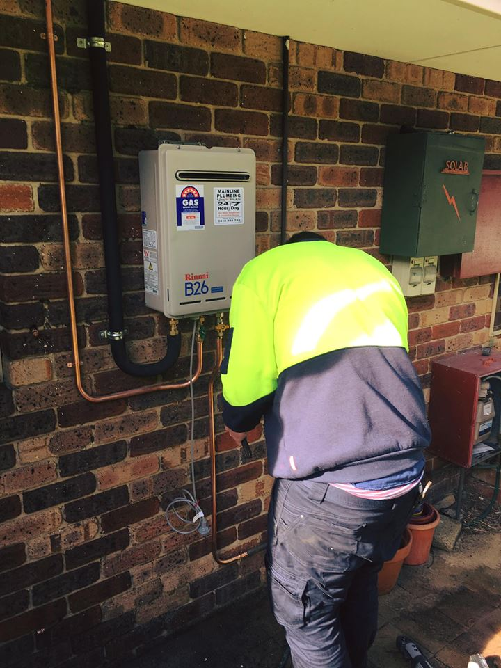 Hot gas installation by Mainline