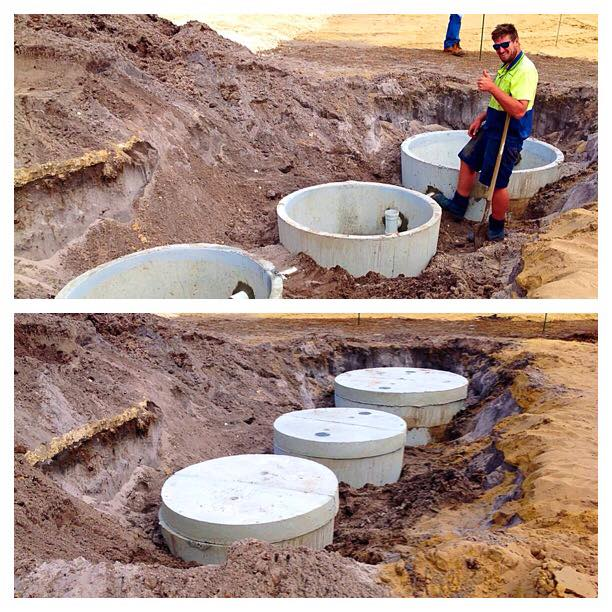 Septic tank done