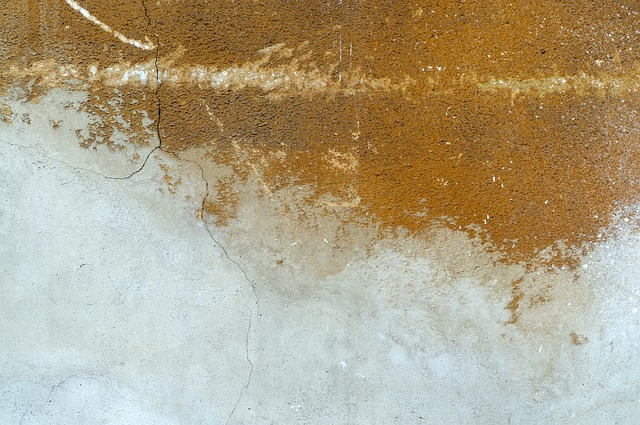Wall plaster  - a sign of a Leaking Water Pipe