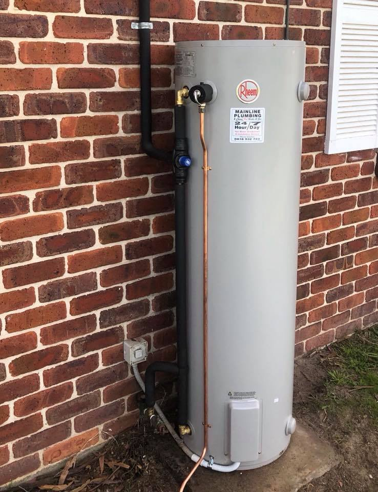 Gas Storage Hot water unit